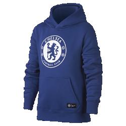 Худи для школьников Chelsea FCХуди для школьников Chelsea FC из мягкой ткани френч терри с фирменными деталями обеспечивает комфорт на весь день.<br>