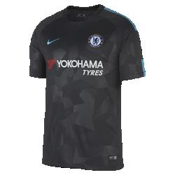 Мужское футбольное джерси 2017/18 Chelsea FC Stadium ThirdМужское футбольное джерси 2017/18 Chelsea FC Stadium Third из легкой влагоотводящей ткани обеспечивает охлаждение и комфорт.<br>