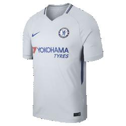 Мужское футбольное джерси 2017/18 Chelsea FC Stadium AwayМужское футбольное джерси 2017/18 Chelsea FC Stadium Away из дышащей влагоотводящей ткани обеспечивает охлаждение и комфорт.<br>