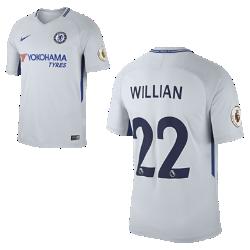 Мужское футбольное джерси 2017/18 Chelsea FC Stadium Away (Willian Borges)Мужское футбольное джерси 2017/18 Chelsea FC Stadium Away (Willian Borges) из дышащей влагоотводящей ткани обеспечивает охлаждение и комфорт.<br>