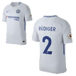 Мужское футбольное джерси 2017/18 Chelsea FC Stadium Away (Antonio Rudiger)Мужское футбольное джерси 2017/18 Chelsea FC Stadium Away (Antonio Rudiger) из легкой влагоотводящей ткани обеспечивает охлаждение и комфорт.<br>