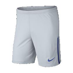 Мужские футбольные шорты 2017/18 Chelsea FC Stadium Home/AwayМужские футбольные шорты 2017/18 Chelsea FC Stadium Home/Away из легкой ткани со вставками из эластичной сетки обеспечивают длительный комфорт и естественную свободу движений.<br>