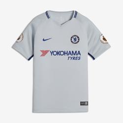 Футбольное джерси для школьников 2017/18 Chelsea FC Stadium Away (Antonio Rudiger)Футбольное джерси для школьников 2017/18 Chelsea FC Stadium Away (Antonio Rudiger) из дышащей влагоотводящей ткани обеспечивает охлаждение и комфорт.<br>