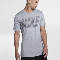 Мужская футболка для тренинга с коротким рукавом Nike DryМужская футболка для тренинга с коротким рукавом Nike Dry из мягкой влагоотводящей ткани обеспечивает комфорт во время тренировки.<br>