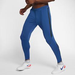 Мужские футбольные брюки Nike Dry StrikeМужские футбольные брюки Nike Dry Strike из эластичной влагоотводящей ткани обеспечивают свободу движений во время тренировок.<br>