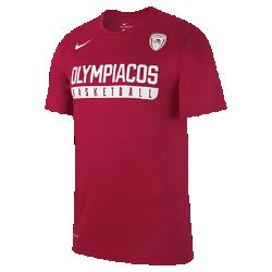 Мужская баскетбольная футболка Olympiacos BC DryМужская баскетбольная футболка Olympiacos BC Dry из влагоотводящей ткани обеспечивает комфорт.<br>