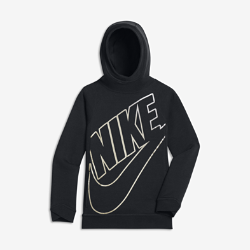 Худи для мальчиков школьного возраста Nike Sportswear ModernХуди для мальчиков школьного возраста Nike Sportswear с прилегающим кроем из мягкой ткани обеспечивает длительный комфорт и естественную свободу движений. Легкая конструкция сохраняет тепло во время игр на открытом воздухе.<br>
