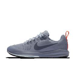 Женские беговые кроссовки Nike Air Zoom Structure 21 ShieldЖенские беговые кроссовки Nike Air Zoom Structure 21 с водоотталкивающим верхом созданы для бега во влажную погоду. Они обеспечивают легендарный уровень стабилизации, поддержки и амортизации Nike Zoom Air.  Превосходная стабилизация  Широкая плоская подметка и два типа амортизирующего пеноматериала обеспечивают стабилизацию. Более твердый пеноматериал располагается на внутренней части сводастопы, а более мягкий — с внешней стороны. Это создает нужный уровень стабилизации и защиты от ударных нагрузок.  Защита от влаги  Верх из цельного материала Flymesh с прочным водоотталкивающим покрытием DWR защищает от влаги. Этот легкий и дышащий материал позволяет избежать перегрева.  Воздухопроницаемость и защита  Внутренний слой представляет собой дышащую мембрану, которая блокирует влагу, но не препятствует циркуляции воздуха. Позволяет избежать перегрева.<br>