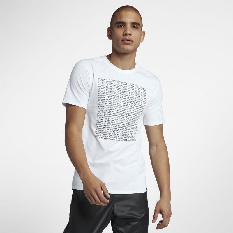 Nike Jordan Sportswear Men's T-Shirt - White Image