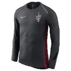 Мужская футболка НБА с длинным рукавом Cleveland Cavaliers Nike Hyper EliteМужская футболка НБА с длинным рукавом Cleveland Cavaliers Nike Hyper Elite из легкой влагоотводящей сетки обеспечивает охлаждение, комфорт и позволяет ни на что не отвлекаться вовремя разминки и игры. Преимущества  Технология Dri-FIT отводит влагу и обеспечивает комфорт Манжеты особой формы не мешают при ведении мяча Вставка из сетки на спине для усиленной вентиляции Особое расположение плечевых швов и боковые разрезы для свободы движений  Информация о товаре  Состав: 100% полиэстер Машинная стирка Импорт<br>