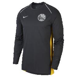 Мужская футболка НБА с длинным рукавом Golden State Warriors Nike Hyper EliteМужская футболка НБА с длинным рукавом Golden State Warriors Nike Hyper Elite из легкой влагоотводящей сетки обеспечивает охлаждение, комфорт и позволяет ни на что не отвлекаться во время разминки и игры. Преимущества  Технология Dri-FIT отводит влагу и обеспечивает комфорт Манжеты особой формы не мешают при ведении мяча Вставка из сетки на спине для усиленной вентиляции Особое расположение плечевых швов и боковые разрезы для свободы движений  Информация о товаре  Состав: 100% полиэстер Машинная стирка Импорт<br>