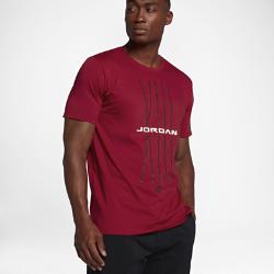 Мужская футболка Jordan Sportswear AJ 13 CNXN 1Мужская футболка Jordan Sportswear AJ 13 CNXN 1 из мягкого и прочного хлопка обеспечивает комфорт на весь день.<br>