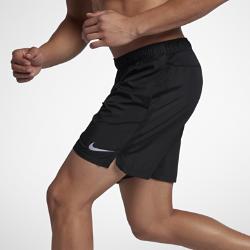 Мужские беговые шорты с подкладкой Nike Challenger 18 смМужские беговые шорты с подкладкой Nike Challenger 18 см из влагоотводящей ткани обеспечивают комфорт во время бега.<br>