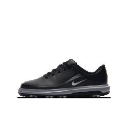 Детские кроссовки для гольфа Nike Precision Jr.Детские кроссовки для гольфа Nike Precision Jr. с легким амортизирующим пеноматериалом во всю длину стопы обеспечивают комфорт и стабилизацию во время игры. Подметка с рисунком, выполненным по технологии Integrated Traction, для сцепления с поверхностями разных типов.<br>