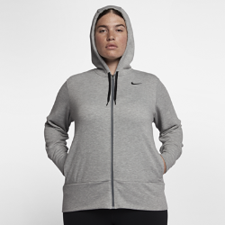 Nike Dry (Plus Size) Women's Full-Zip Training Hoodie