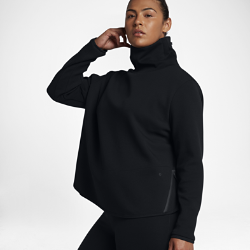 Therma Flex Kadın Antrenman Sweatshirt'ü (Büyük Beden) Nike