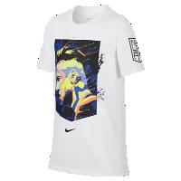 <ナイキ(NIKE)公式ストア> ネイマール ジュニオール ナイキ Dri-FIT ジュニア (ボーイズ) Tシャツ 909860-100 ホワイト画像