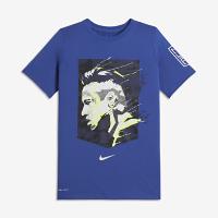 <ナイキ(NIKE)公式ストア> ネイマール ジュニオール ナイキ Dri-FIT ジュニア (ボーイズ) Tシャツ 909860-480 ブルー画像