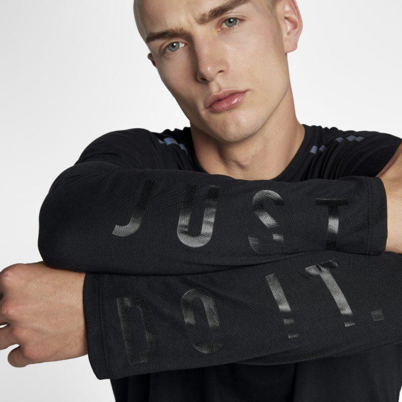 Nike Tailwind Uzun Kollu Erkek Koşu Üstü  910830-010 -  Siyah L Beden Ürün Resmi