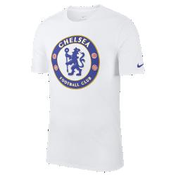 Мужская футболка Chelsea FC CrestМужская футболка Chelsea FC Crest из мягкого хлопка обеспечивает длительный комфорт на трибунах и на улице.<br>