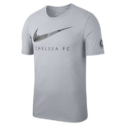 Мужская футболка Chelsea FC DryМужская футболка Chelsea FC Dry из мягкой влагоотводящей ткани с фирменными деталями обеспечивает длительный комфорт.<br>