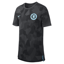 Мужская футболка Chelsea FC Dry MatchМужская футболка Chelsea FC Dry Match из мягкой влагоотводящей ткани украшена клубной символикой.<br>