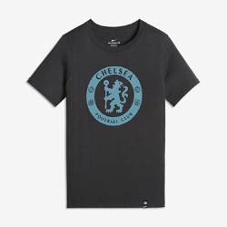 Футболка для дошкольников/школьников Chelsea FC CrestФутболка для дошкольников/школьников Chelsea FC Crest из мягкого хлопка украшена символикой команды.<br>