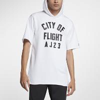 <ナイキ(NIKE)公式ストア> ジョーダン スポーツウェア City of Flight メンズ フーデッド フリース Tシャツ 911317-100 ホワイト画像