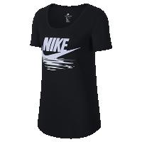 <ナイキ(NIKE)公式ストア>ナイキ スポーツウェア ウィメンズ Tシャツ 911435-010 ブラック画像