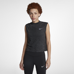 Женская беговая футболка без рукавов Nike Running DivisionЖенская беговая футболка без рукавов Nike — это стильная и универсальная модель. Слегка укороченный силуэт с воротником-стойкой идеально сочетается с курткой или худи.Усовершенствованный дизайн этой футболки из коллекции Running Division подойдет для любой ситуации.  Каждый день, на любой пробежке  Минималистичная модель станет отличным дополнением к любому повседневному образу и беговой форме. Отправляясь после пробежки в кафе, по делам или на работу, тебе не придется переодеваться.  КОМФОРТ  Технология Dri-FIT обеспечивает прохладу и комфорт, выводя влагу на поверхность ткани, где она быстро испаряется.<br>