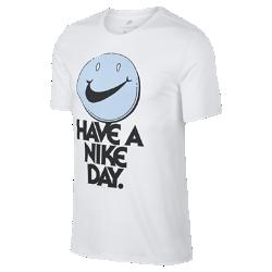 <ナイキ(NIKE)公式ストア>ナイキ スポーツウェア 'Have A Nike Day' メンズ Tシャツ 911904-100 ホワイト★11/23から29日の7日間限定、ブラックフライデー キャンペーン中!画像