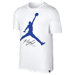 Мужская футболка Jordan FlightМужская футболка Jordan Flight из мягкого и прочного хлопка обеспечивает комфорт на весь день.<br>