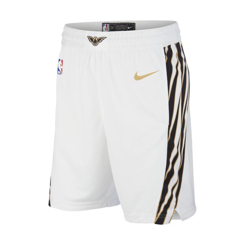 Atlanta Hawks City Edition Swingman Nike NBA ErkekŞortu  912072-100 -  Beyaz S Beden Ürün Resmi