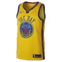 <ナイキ(NIKE)公式ストア> NEW ステフィン カリー シティ エディション スウィングマン ジャージー (ゴールデンステート・ウォリアーズ) メンズ ナイキ NBA コネクテッド ジャージー 912101-728 会員は送料無料