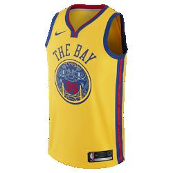 【ナイキ(NIKE)公式ストア】ケビン デュラント シティ エディション スウィングマン ジャージー (ゴールデンステート・ウォリアーズ) メンズ ナイキ NBA ジャージー 912101-729 イエロー