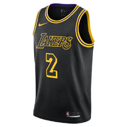 Lonzo Ball City Edition Swingman Jersey (Los Angeles Lakers) Men's Nike NBA Jersey