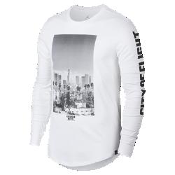 """Мужская футболка с длинным рукавом Jordan Sportswear """"City Of Flight""""Мужская футболка с длинным рукавом Jordan Sportswear """"City Of Flight"""" из мягкого хлопка с фирменными деталями обеспечивает длительный комфорт.<br>"""