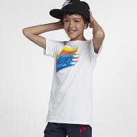 <ナイキ(NIKE)公式ストア>ナイキ スポーツウェア ジュニア (ボーイズ) Tシャツ 913186-100 ホワイト画像