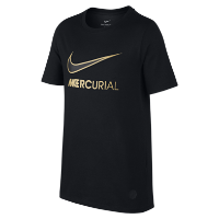 <ナイキ(NIKE)公式ストア>ナイキ Dri-FIT CR7 マーキュリアル ジュニア (ボーイズ) Tシャツ 913904-010 ブラック画像