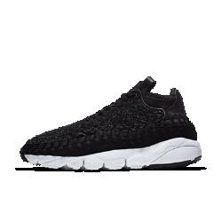 Мужские кроссовки NikeLab Air Footscape Woven Chukka QSМужские кроссовки NikeLab Air Footscape Woven Chukka QS со средним профилем, превосходным плетеным верхом и глубокими эластичными желобками помогают создать стильный образ и не сковывают движений.<br>