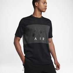 Мужская футболка с коротким рукавом Nike AirМужская футболка с коротким рукавом Nike Air с сеткой по всей поверхности обеспечивает превосходную циркуляцию воздуха.<br>