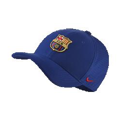 Бейсболка с застежкой FC Barcelona AeroBill Classic 99Бейсболка с застежкой FC Barcelona AeroBill Classic 99 с легкой конструкцией из дышащей влагоотводящей ткани обеспечивает охлаждение и комфорт.<br>
