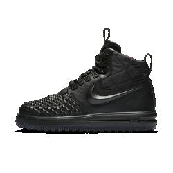Мужские ботинки Nike Lunar Force 1 Duckboot17Мужские ботинки Nike Lunar Force 1 Duckboot17в стиле культовых AF1 обеспечивают защиту от холода. Они сочетают водоотталкивающую кожу, внутренний слой WaterShield и подошву для эффективного сцепления.<br>