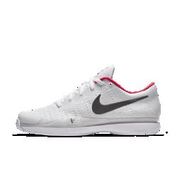 Мужские теннисные кроссовки NikeCourt Zoom Vapor Flyknit Hard Court QSМужские теннисные кроссовки NikeCourt Zoom Vapor Flyknit Hard Court QS — это легкая конструкция, которая обеспечивает комфорт во время тренировки, быстрых рывков и заминки.<br>