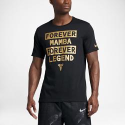 Мужская футболка Nike Dry KobeМужская футболка Nike Dry Kobe с фирменной графикой на мягкой влагоотводящей ткани обеспечивает вентиляцию и комфорт.<br>