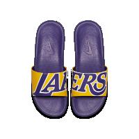 <ナイキ(NIKE)公式ストア> ナイキ ベナッシ NBA メンズスライド 917551-700 イエロー画像