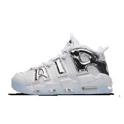 Женские кроссовки Nike Air More UptempoЖенские кроссовки Nike Air More Uptempo привносят культовый баскетбольный стиль 90-х в современную жизнь. Они представляют в новом свете концепцию видимой вставки Air с классическими амортизирующими «окнами» и яркими крупными буквами.<br>