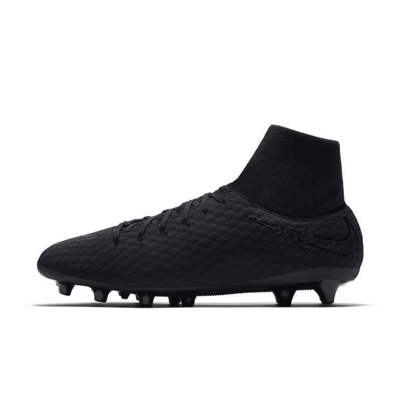 Nike Hypervenom Phelon 3 Dynamic Fit AG-PRO Artificial-Grass Football Boot - Black