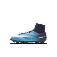 <ナイキ(NIKE)公式ストア>ナイキ ジュニア マーキュリアル ビクトリー VI ダイナミック フィット HG-V キッズ ハードグラウンド サッカースパイク 917785-404 ブルー画像