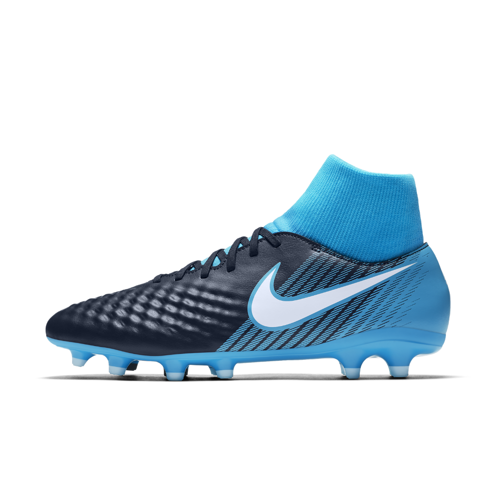 8bcebd65e7da Nike Magista Onda II Dynamic Fit Firm-Ground Soccer Cleats Size 6.5 (Blue)